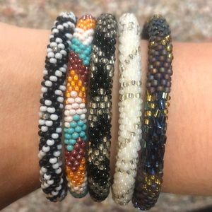 Bundle of 5 Lily and Laura Bracelets